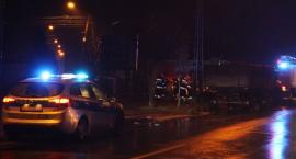 Kolizja w Łowiczu. Ciągnik zderzył się z fiatem punto - Aktualizacja